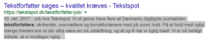 Eksempel på lang meta description
